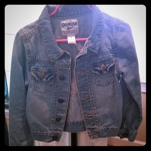 Girl's Oshkosh B'gosh Denim Jacket